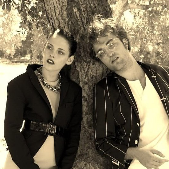kristen stewart and robert pattinson new moon photoshoot. teen vogue magazine photoshoot